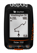 Bryton Rider 330E vergroting